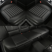 WLMWL Universal Leather Car seat cover for Mitsubishi all models ASX outlander lancer pajero sport dazzle car styling