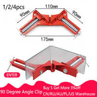 2019 New Right Angle Clip Multifunction 90 Degree Picture Frame Corner Clamp Fishtank DIY Holder Quick Fixed Woodworking Tool
