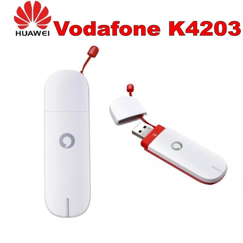 Unlocked New Huawei Vadafone K4203 3G USB Modem 21.6 Mbps HSPA+Mobile Broadband 3G Modem Dongle 3G Stick PK E3351 E3131,,E303