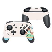 Animal Crossing naklejka na okładkę skórka naklejka na Nintendo Switch Pro kontroler Gamepad Joypad przełącznik do Nintendo Pro skórki naklejki