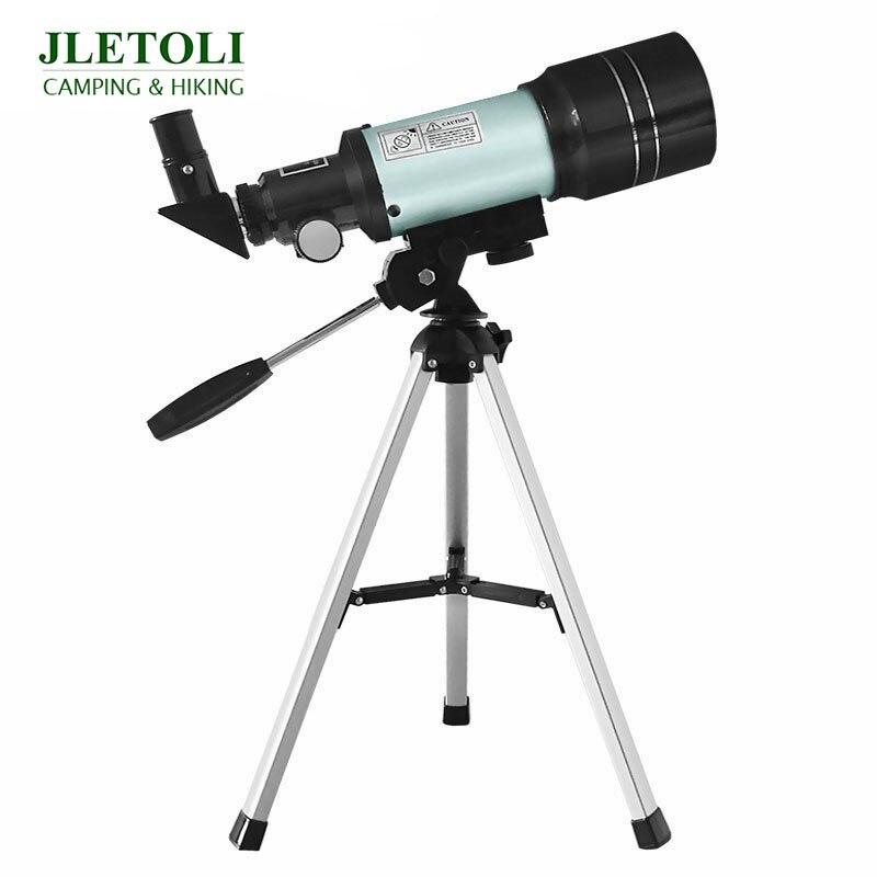 JLETOLI 150X Beginner Level Telescope Astronomic Professional Night Vision Monocular Telescope with Tripod Observable Moon