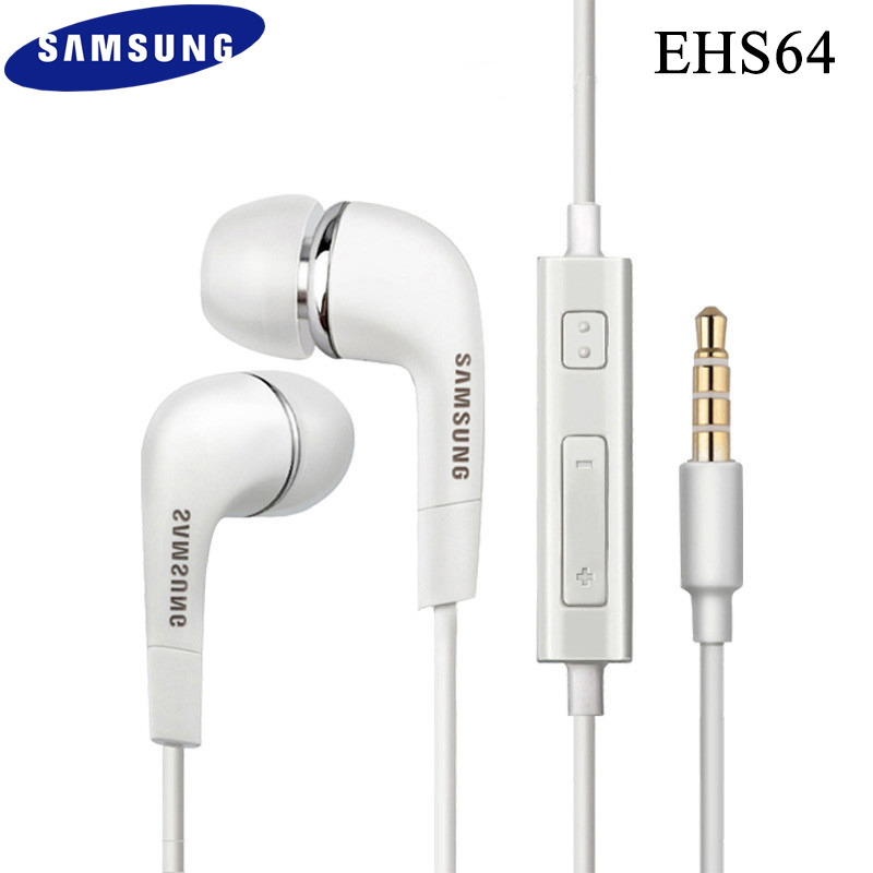 Original Samsung <font><b>EHS64</b></font> Earphone Wired 3.5mm In-ear with Microphone Wired Controller Support Android for Samsung S6 Xiaomi Huawei image