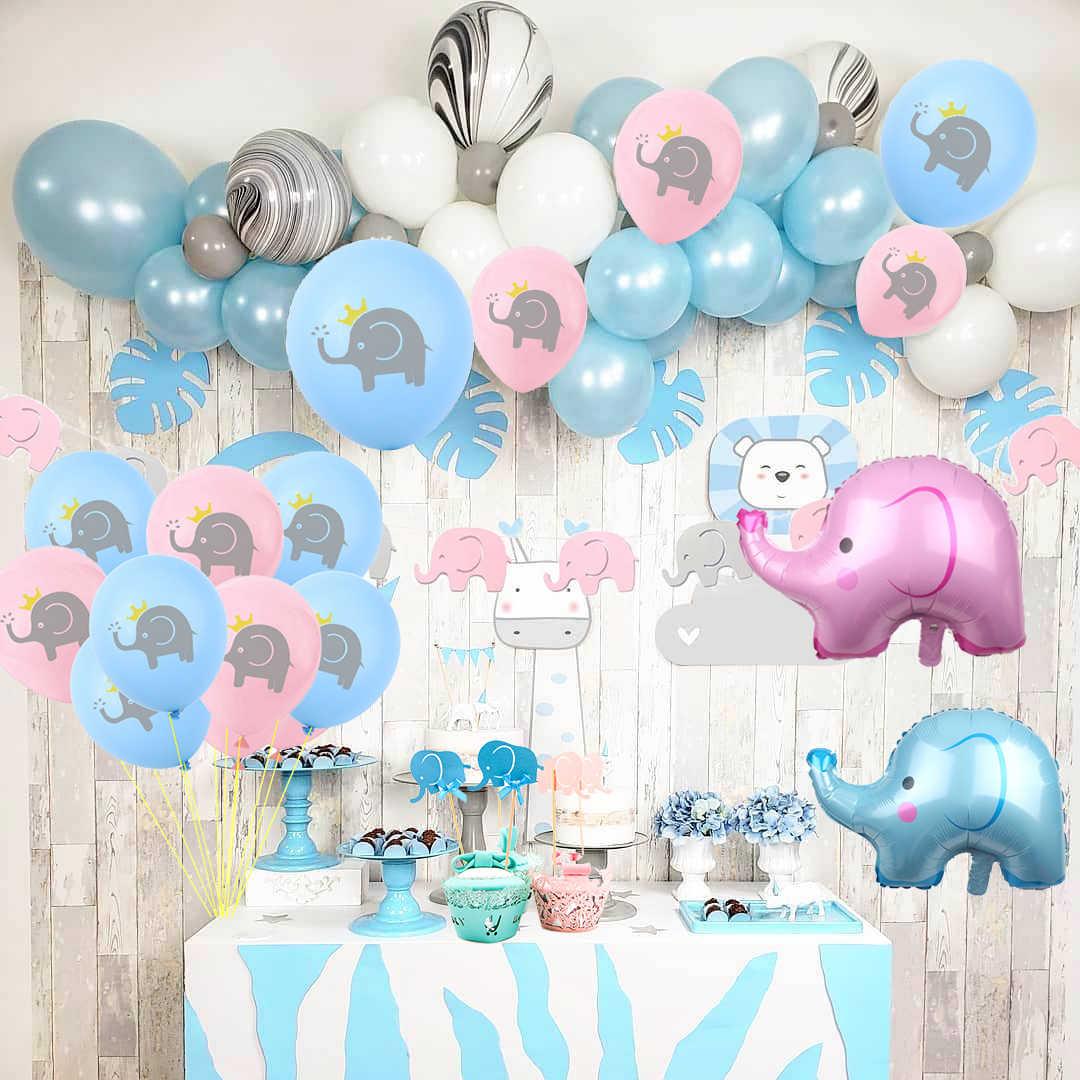 Diy Baby Shower Elephant Decorations  from ae01.alicdn.com