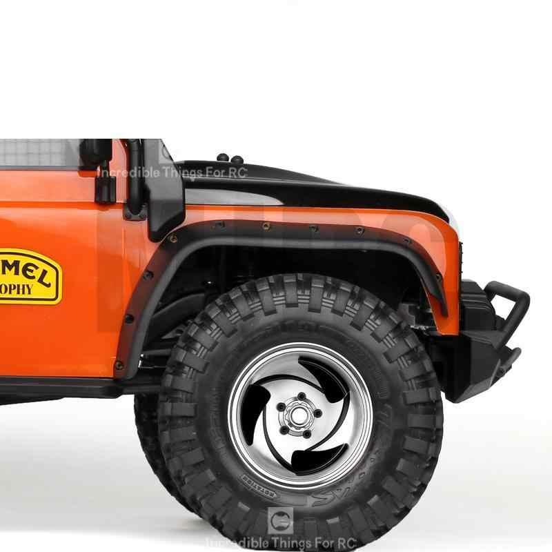 2.2 นิ้วโลหะล้อเลื่อนล้อBeadlockสำหรับ 1/10 Rc CrawlerรถTrx4 Defender Bronco Rc4wd D90 D110 Axial Scx10 90046 Jimny Cfx Vs4