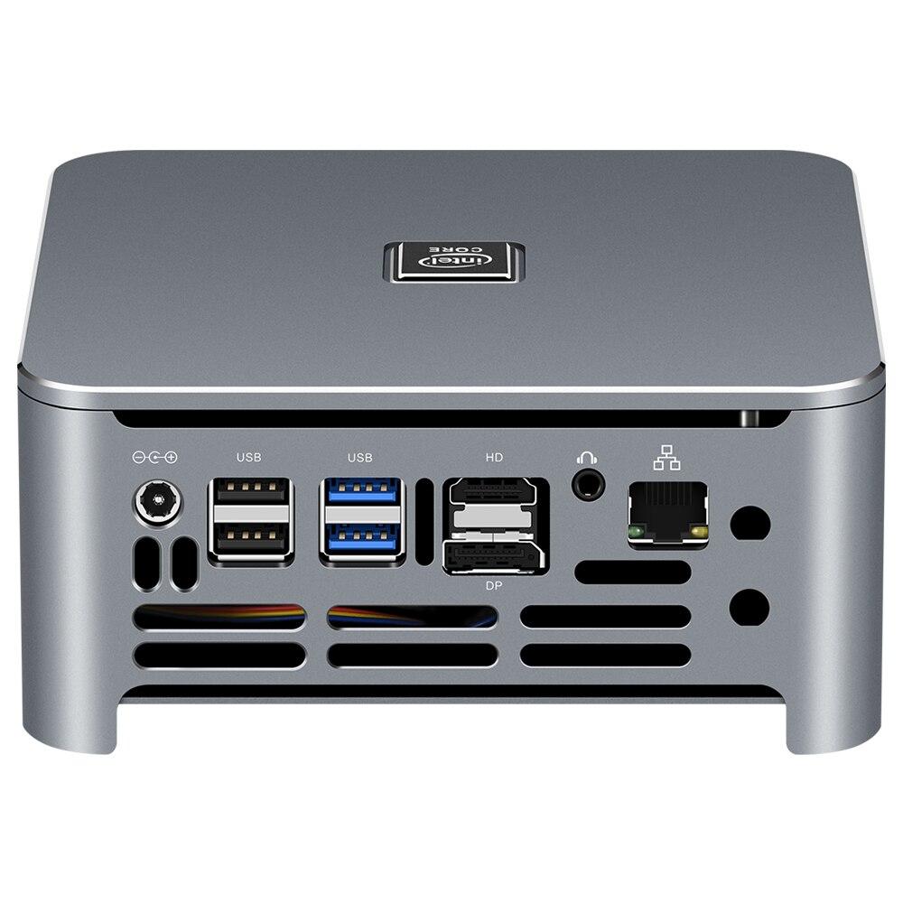 Intel Core Mini PC i9 9880H i7 9850H i5 9400H 8 ядер 2 * DDR4 M.2 SSD HDMI DP 4K 60fps 5 * USB Type-C WiFi Bluetooth Windows 10