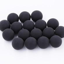 Balle en caoutchouc réutilisable, 200 pièces/sac, Paintball, calibre 0.68, fabriqué en chine