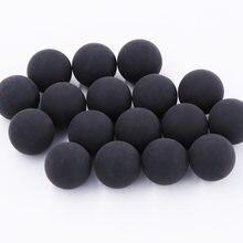 200 pçs/saco reusável bola de borracha 0.68 calibre paintball reball venda quente feita em china