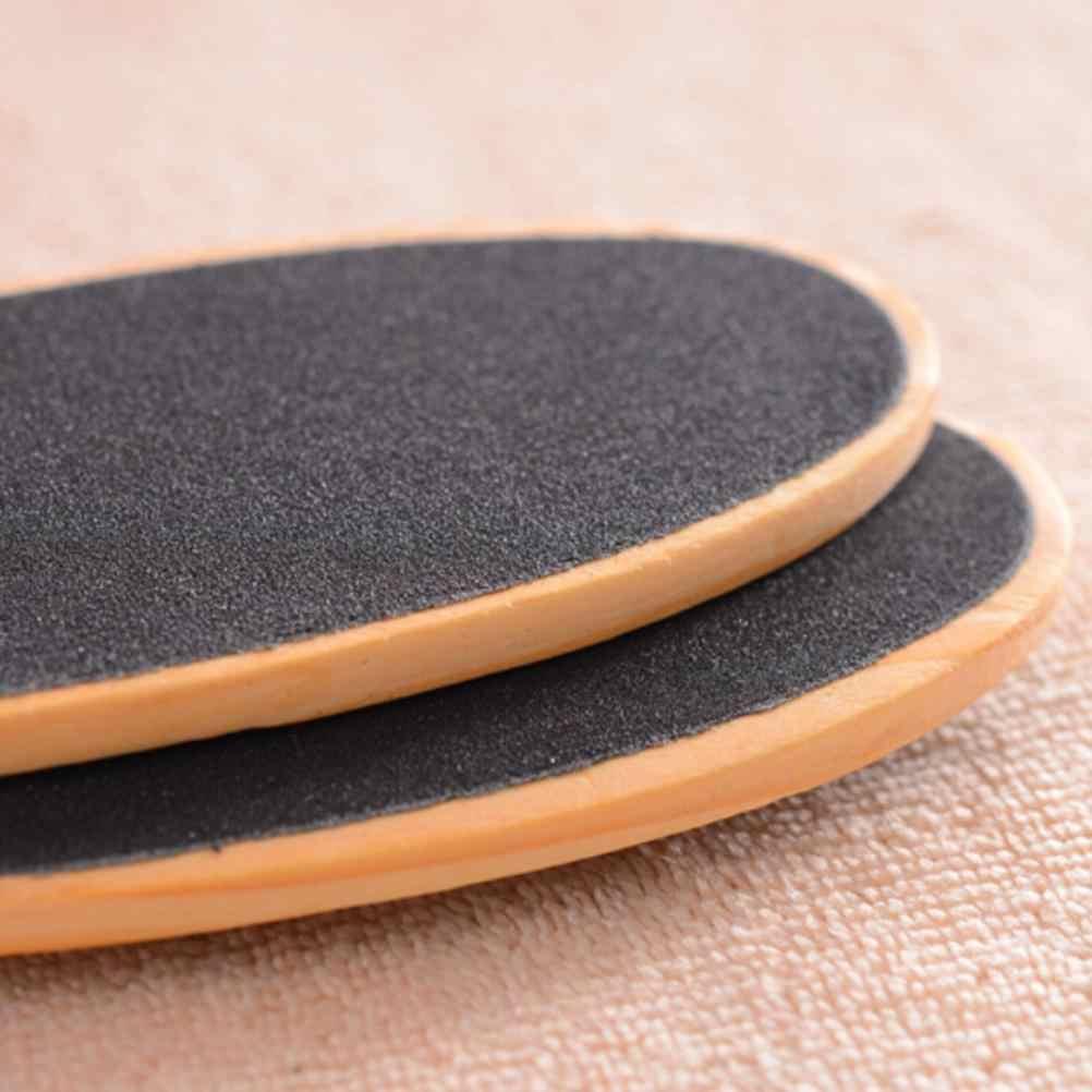 Dateien Doppelseitige Fuß Datei Kallus Entferner für Füße Holz Pediküre Reibe zu Glatte Harte Grob Trockenen Tough Haut