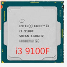 Intel Intel Core i3-9100F SRF6N UO PC Computer Desktop Processore LGA1151 I3 9100F CPU