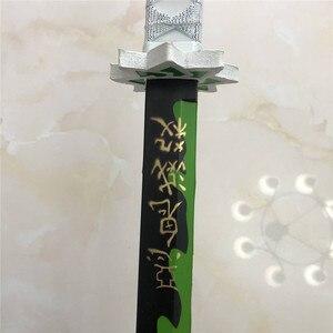 Image 5 - 104 سنتيمتر كيميتسو لا Yaiba السيف سلاح شيطان القاتل Shinazugawa سانمي تأثيري السيف 1:1 أنيمي النينجا سكين لعبة PU