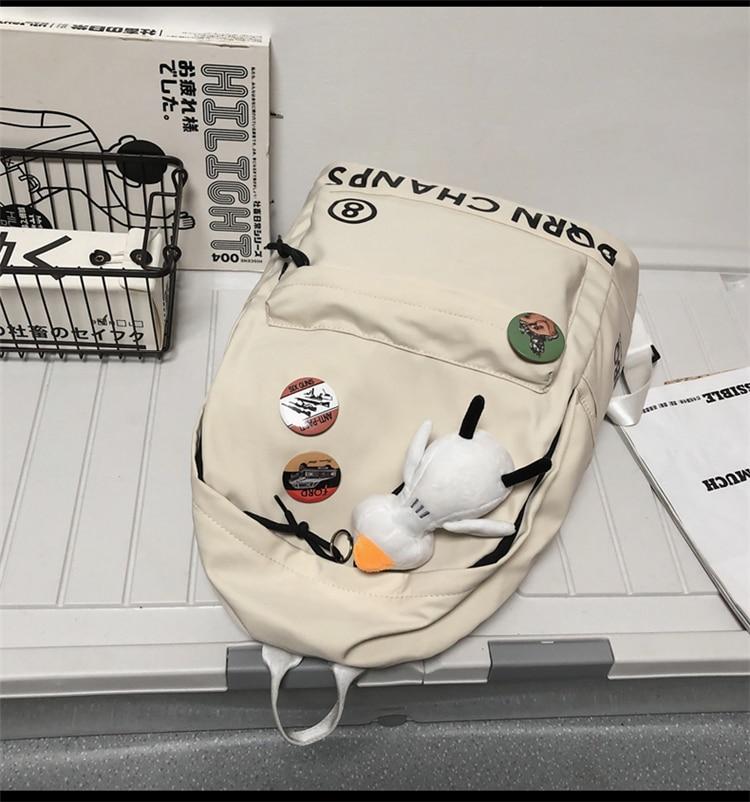 ins marca de moda grande-capacidade mochila