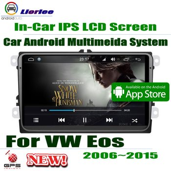 "Carplayer Android System Core A53 PX5 9"" HD IPS LCD Screen For Volkwasgen VW Eos 2006~2015 Radio Player GPS Navi Multimedia"