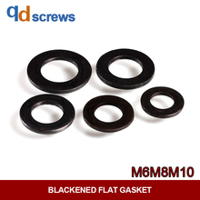 M6M8M10 8.8 Grade High Strength Blackened Flat Gasket