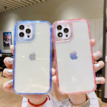 For iPhone 11 Pro Max XS XR X 8 Plus 7 12 Pro Max Case Shockproof Hybrid Clear Bumper Silicone Hard Armor Slim TPU Phone Cover