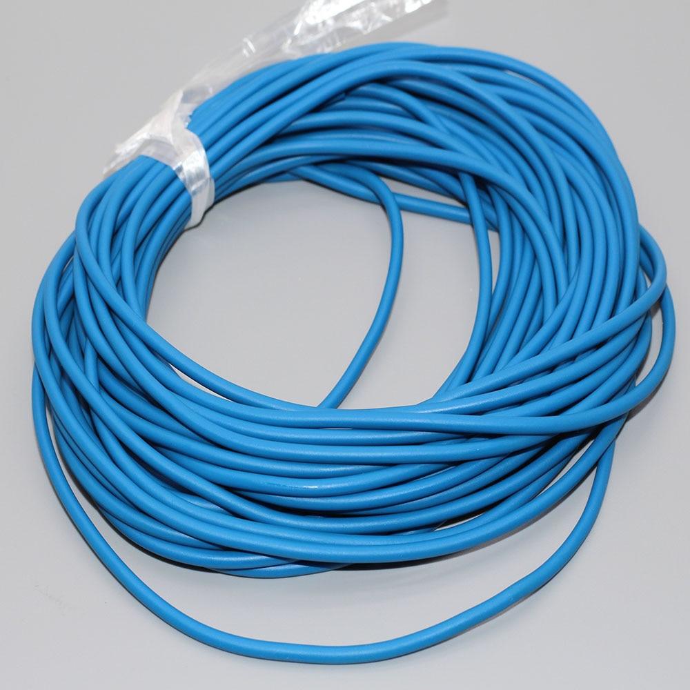 Goods For Fishing10 Meters Fishing Rope Diameter 2.5mm Solid Elastic Rubber Line