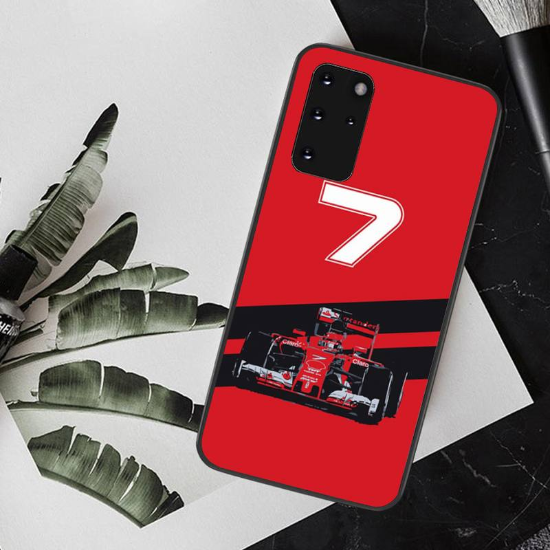 CUTEWANAN For Formula 1 Racing F1 Customer High Quality Phone Case for Samsung S20 plus Ultra S6 S7 edge S8 S9 plus S10 5G