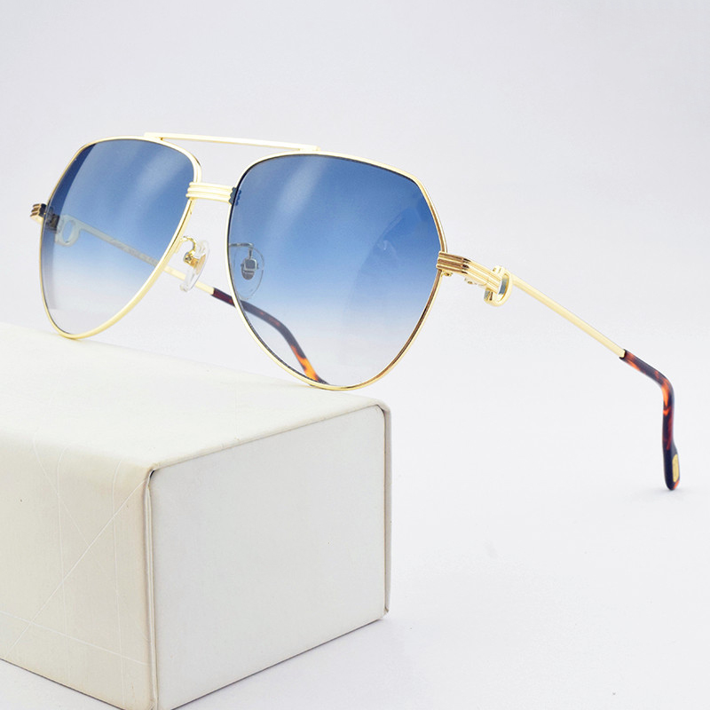 2020 new luxury brand sunglasses women sun glasses mens sunglasses vintage brand designer Fashion Golden men sunglasses womens
