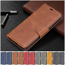 Phone Wallet Case Huawei Honor with Hand-Rope for 9X Pro 10i Honor/10-lite/Female Solid-Color