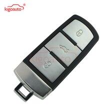 Smart key 3button 434Mhz with ID48 chip for VW Passat B6 3C B7 keyless remote недорого