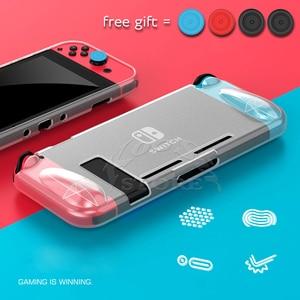 Image 1 - Мягкий чехол из ТПУ для Nintendo Switch, защитный чехол для Nitendo Switch, аксессуары для игр