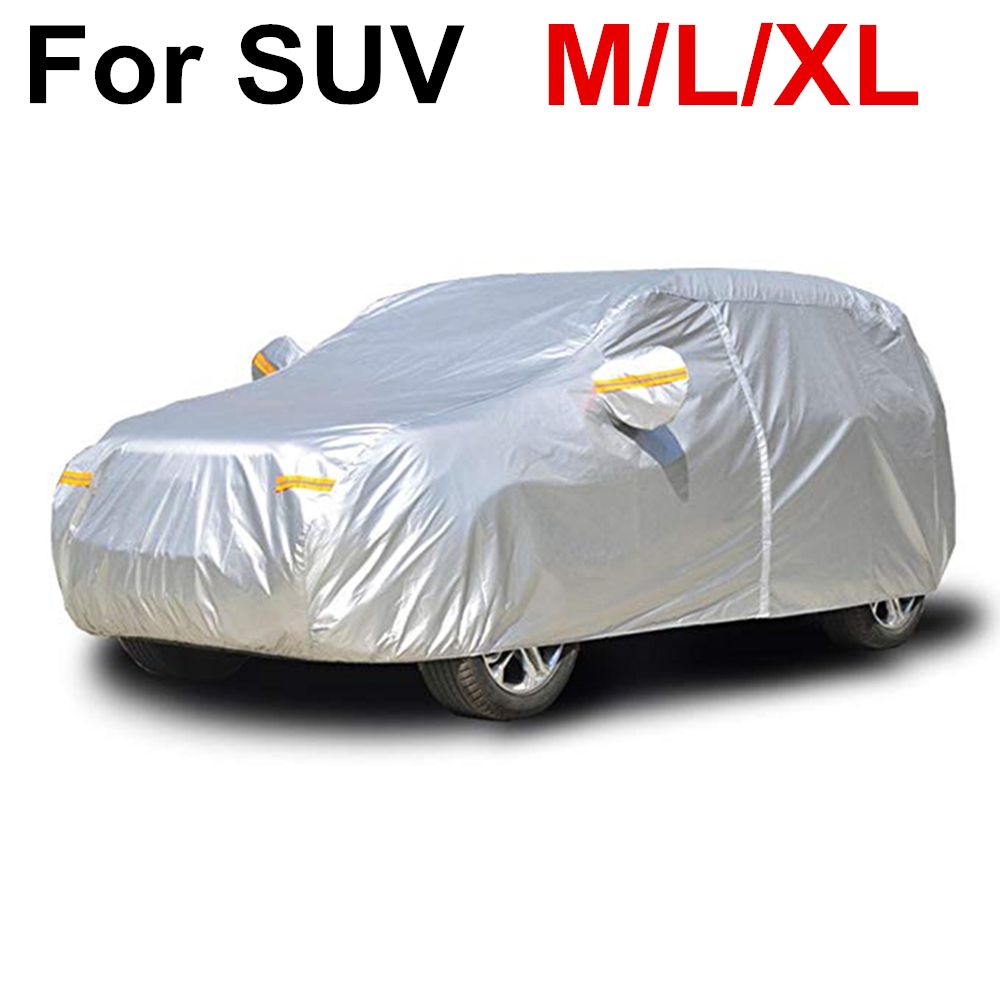 SUV Cover Coat Protector UV Protective Dust Rain Snow Water Proof Full Car Covers Indoor Outdoor D45|Car Covers| |  - title=