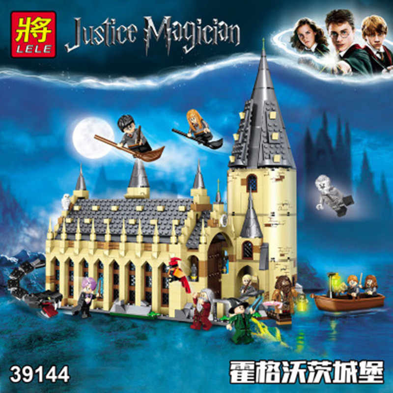 926 Pcs Film di Harry Hogwarte Magic Castle Cinderellaing Principessa Legoinglys Blocchi di Costruzione di Modello Kit Giocattoli Dropshiping