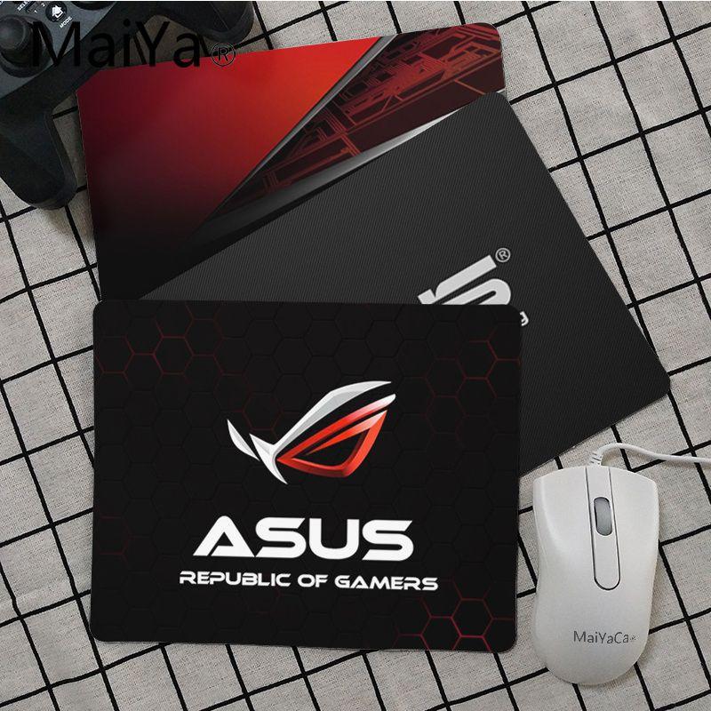 Maiya Top Quality ASUS Logo Computer Gaming Mousemats Top Selling Wholesale Gaming Pad Mouse