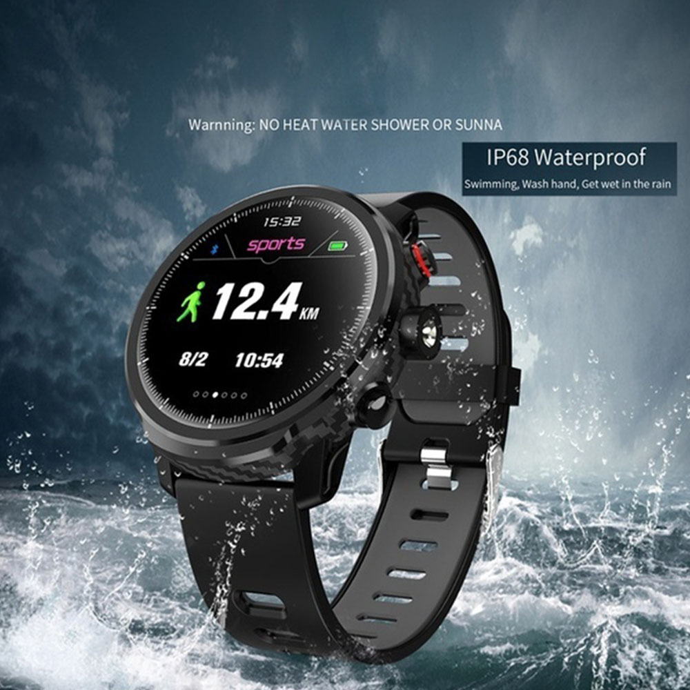 <font><b>L5</b></font> <font><b>Smart</b></font> <font><b>Watch</b></font> Waterproof <font><b>Men</b></font> <font><b>Smart</b></font> <font><b>Watch</b></font> Bluetooth Android Wristband Call Reminder Heart Rate Pedometer Swimming <font><b>Ip68</b></font> image