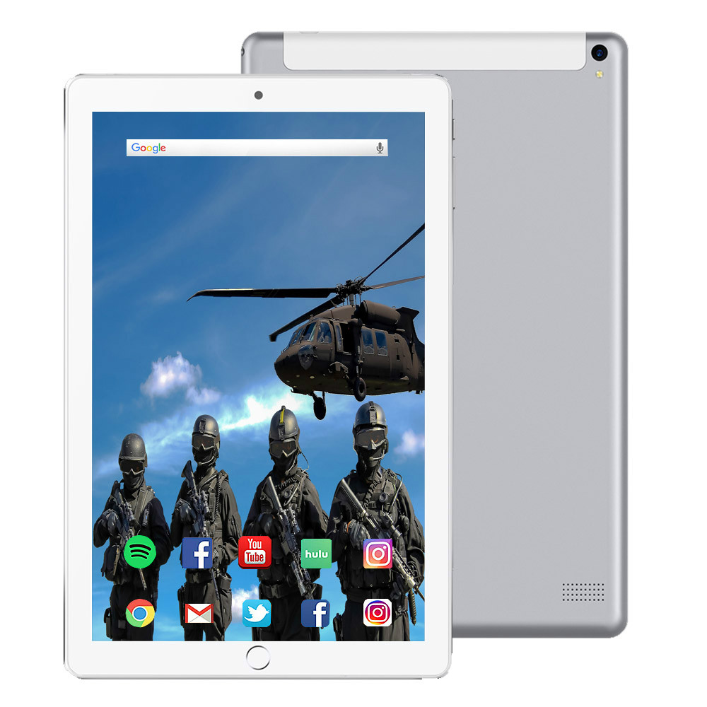10.1 Inch RAM 6GB ROM 128GB 1280*800 IPS Screen Tablet 10 Octa Core MT6797 4G Dual SIM Card Phone 4G Call Wifi Tablets PC