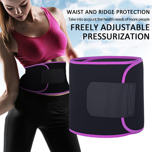 Sweat Belt Durable Professional Waist Protection Gym Fitness Centre Yoga Sport Goods Climbing Outdoor Marvellous Waist Trimmer 1