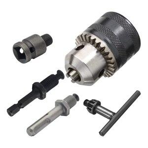 Набор патронов для сверления 1,5-13 мм, адаптер для сверления, инструмент для быстрой замены, аксессуары для электрического молотка
