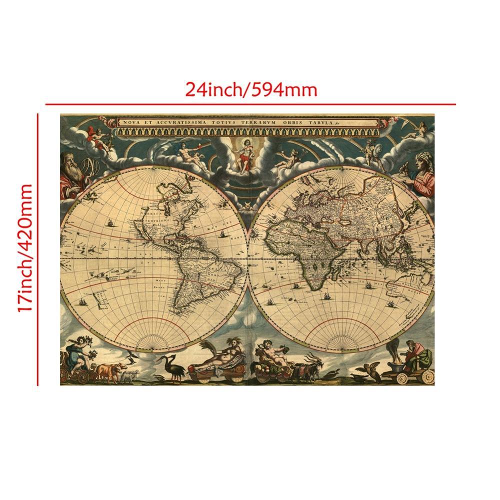 lona parede mapa hd impresso sem moldura 02