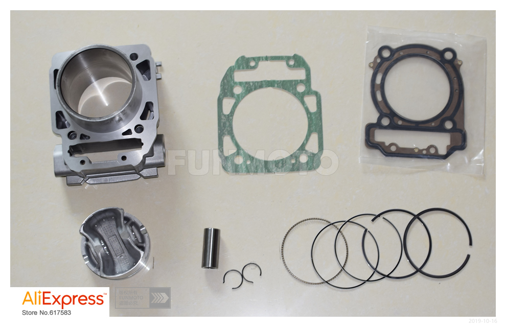 Image 2 - front and rear cylinder/piston/rings/pin/circlip/cylinder gaskets fit for odes800 /BRP CAN AM OUTLANDER 1000parts of a daisy flowerparts telephoneparts mixer -