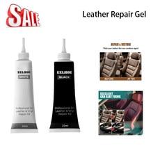Reparação de enchimento de couro creme de reparação de vinil enchimento zero restauração rachaduras rips ferramenta líquido pele mais limpa carro accseeories tslm1