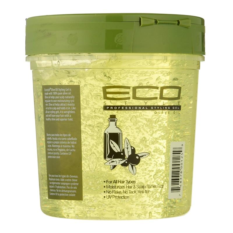 Американский эко-гель для укладки волос, оливковое масло