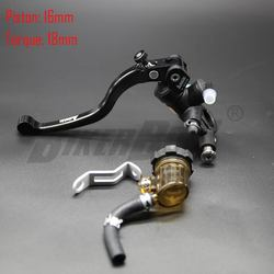 Motorcycle 16X18 Brake Adelin Master Cylinder Hydraulic brake clutch pump lever handle FOR Yamaha