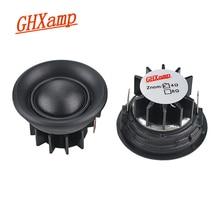 Динамики для автомобиля GHXAMP, 20 ядер, 1,5 дюйма, 4 Ом, 10 Вт, шелковая диафрагма, купол, громкий динамик, неодимовая Тройная головка, 89DB, 2 шт.