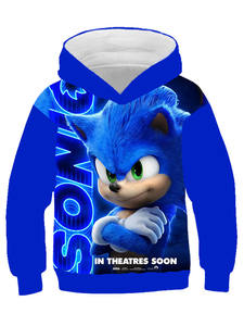Boys Hoodie Sweatshirt Sonic the Hedgehog Clothes Children's Hoodies For Teen Girls Clothing