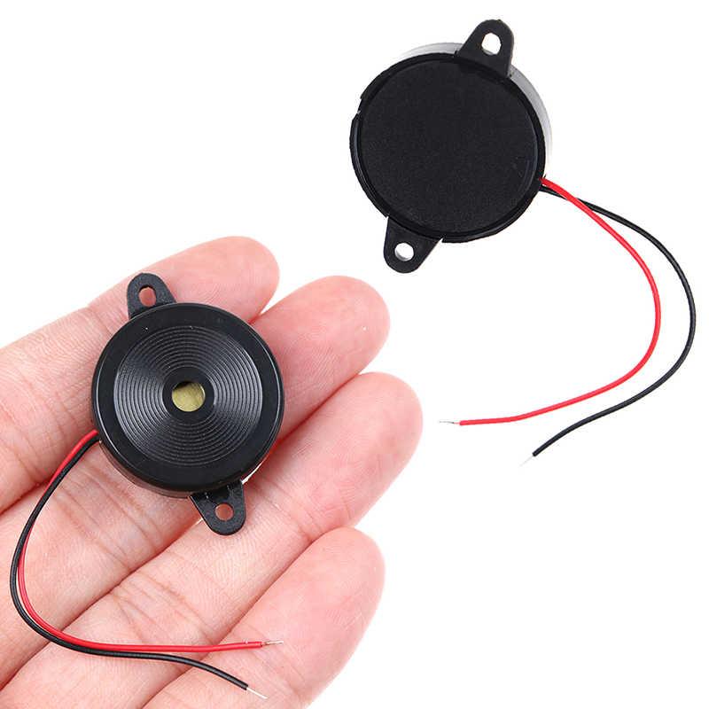 Alarma zumbadora electrónica piezoeléctrica de 12-30 V, 80DB, Beeper de sonido continuo para furgoneta Arduino de 3mA a 4,0 KHz/12Vp-p, onda cuadrada