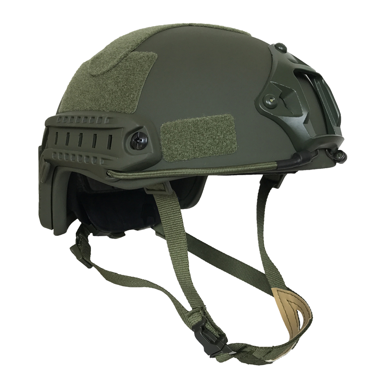 FAST Bulletproof Ballistic Helmet US Standard NIJ IIIA Aramid For Police Guard Safety Protection