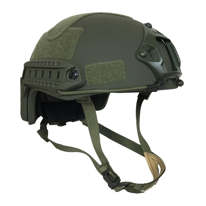 FAST Bulletproof Ballistic Helmet US Standard NIJ IIIA Aramid For Police Guard Safety Protection
