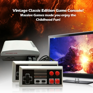 Image 2 - 4 לחצן בקר Gamepad עבור Coolbaby טלוויזיה כף יד משחק וידאו 9 פין מסוף