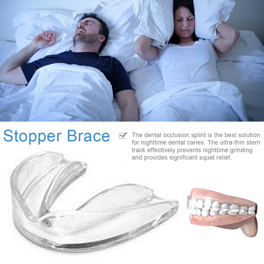 Snoring Stopper Suitable For Stopping Snoring Solution Tooth Mask Shield Protection Sleep Aid Tool Molar Night Protection