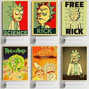 Anime Cartoon Rick and Morty P