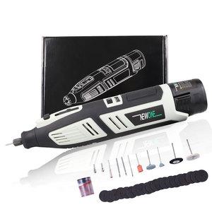Image 2 - Newone 12V Lithium Ion Cordless Kit Ferramenta Rotativa Dremel Elétrica Mini Broca com Seis Ajuste de Velocidade portátil Rotativo ferramenta