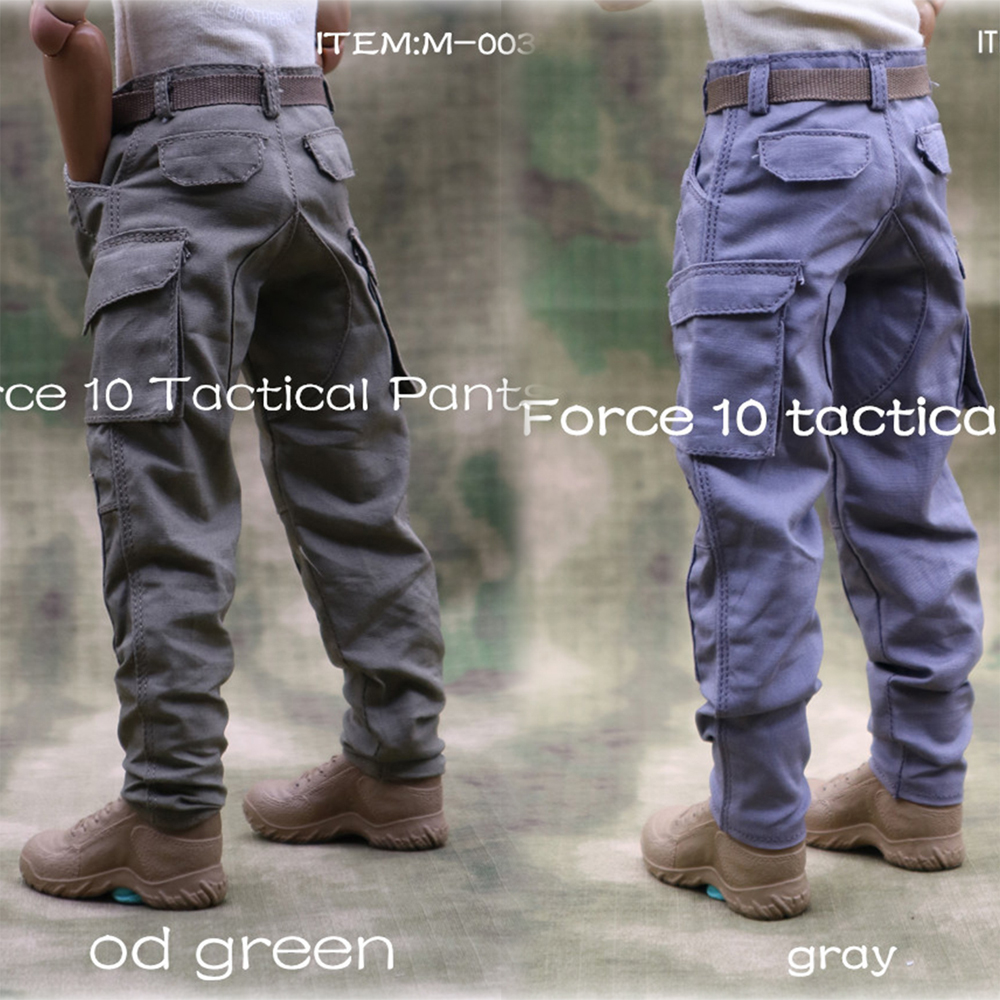 1//6 M-003D Male Gray Tactical Combat Pants Clothing F 12/'/' Action Figure Dolls
