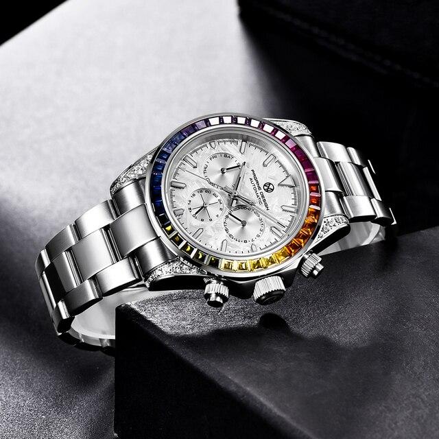 Pagrne Design 1666 Jubilee Men's Sport Watch 5