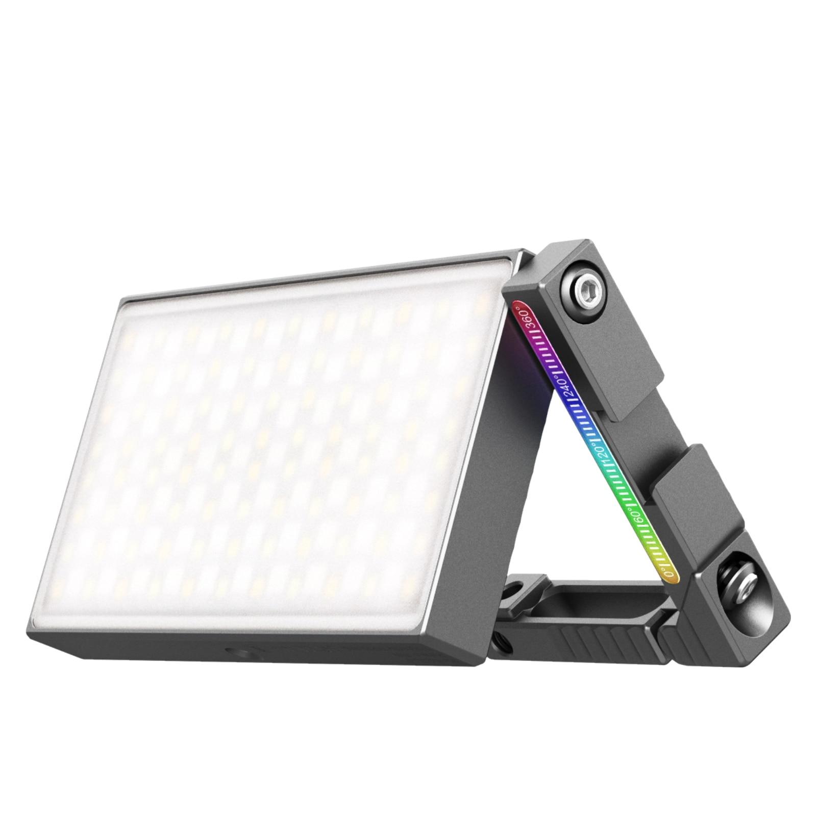 Vijim rgb vídeo led luz 360 °