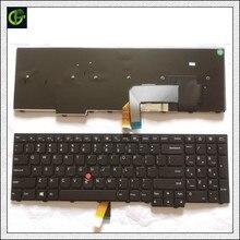 Novo Teclado Original Em Inglês para Lenovo ThinkPad W540 W541 W550s T540 T540p T550 L540 Borda E531 E540 L570 0C44592 0C44944 EUA