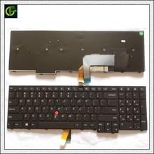 جديد الأصلي الإنجليزية لوحة مفاتيح لأجهزة لينوفو ثينك باد W540 W541 W550s T540 T540p T550 L540 حافة E531 E540 L570 0C44592 0C44944 لنا
